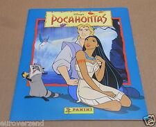 Panini album compleet Pocahontas 1995