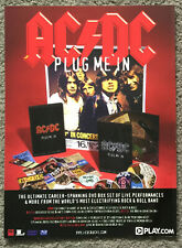 AC/DC - PLUG ME IN 2007 full page UK magazine ad ACDC