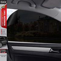 Static Cling 5% VLT Automotive Window Tint DIY Easy Install Glare Control