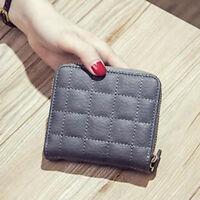 Fashion Leather Bifold Wallet Zipper Clutch Card Holder Purse Handbag  Lady