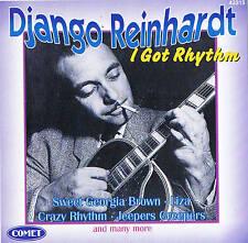 """DJANGO REINHARDT """"I Got Rhythm"""" 78rpm time CD 12 Titres & Comet 1997"""