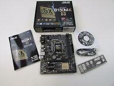 2 232 Scheda Madre Asus B150M-K D3 SUPPORTO Intel 1151 FATTORE forma Micro - ATX
