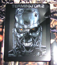 """TERMINATOR 2 LIMITADA AM"""" culo """"STEELBOOK versión con TOTAL Daño BLU-RAY"""