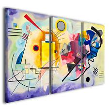 Quadri Wassily kandinsky vol XXIV stampe su tela quadro moderno famoso ® TOP