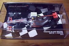 1/43 MCLAREN MERCEDES MP4/25 Vodaphone 2010 Lewis Hamilton
