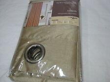 New  ESTEX Adison Faux Silk GROMMET LINED WINDOW PANEL - TAUPE 54x84 NIP