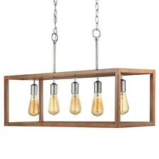 Home DecoratorsBoswell Quarter Collection 5-Light Galvanized Island Chandelier..