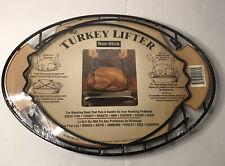 Vintage 1996 The Non-Stick Turkey Lifter Raising Rack - Brand New