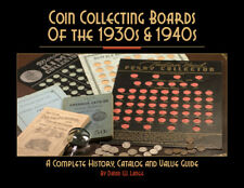Coin Collecting Boards of the 1930s & 1940s Catalog Value Guide Book New Gift US