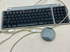 Vintage Apple Classic Wired USB Computer Keyboard M2452 G3/4+ Mouse m4848 (Set)