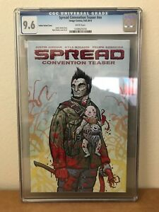 Spread Convention Teaser #nn CGC 9.6 - Yellow Variant Cover - Image Comics