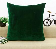 Decorative Embossed Pillow Throw Velvet Home Decor Cushion Cover-YC346A