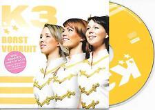 K3 - Borst vooruit CD SINGLE 2TR CARDSLEEVE Europop 2005 BELGIUM