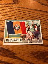 1956 Topps Flags Of The World #31