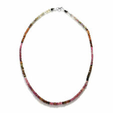 """925 Sterling Silver Bead Strand Necklace Jewelry for Women Size 18"""" Ct 40"""