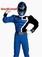 Power Rangers Size 7-8 Medium SPD Blue Ranger Muscle Child Costume New