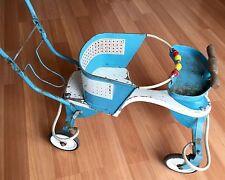 OLD VTG METAL WOOD GENUINE TAYLOR TOT PUSH CART CHILD BABY CARRIAGE STROLLER
