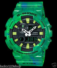 GAX-100MB-3A Green Casio Watches G-Shock 200M Analog Digital X-Large Resin
