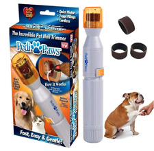 Pedi Paws Nail Trimmer Grooming Tool Clipper Dog & Cat - Nail Grinder
