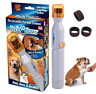 Pedi Paws Nail Trimmer / Grinder Grooming Tool Clipper Dog & Cat - As seen on TV