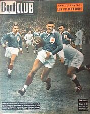 RUGBY FRANCE ANGLETERRE FOOTBALL MATCH COUPE DE FRANCE REVUE BUT CLUB 1950