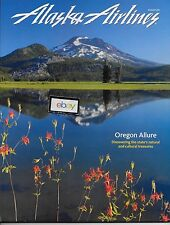 ALASKA AIRLINES INFLIGHT MAGAZINE 8/2011 OREGON ALLURE-TV & FILM IN ALASKA