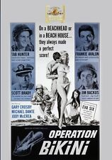 Operation Bikini 1963 (DVD) Tab Hunter, Scott Brady, Frankie Avalon - New!