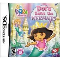 Dora the Explorer: Dora Saves the Mermaids - Nintendo DS.
