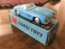 Vintage Corgi Toys / MIB / Mercedes-Benz 300 SL / Rare Original Edition / No 303