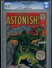 Tales to Astonish #9 (1960) Droom the Living Lizard CGC 4.0 VG