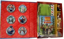 NEW   POSTMAN PAT  READ & PLAY GIFT SET with 6 TOY FIGURES ,GIANT PLAYMAT & book