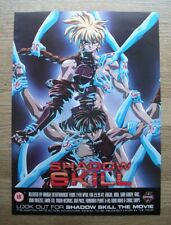 SHADOW SKILL - MANGA - Original FILM magazine advert 29 X 21