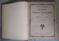 HISTOIRE DE LA NATION FRANCAISE TOME XI HISTOIRE DES ARTS PAR HANOTAUX