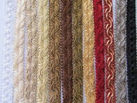 16mm SILKY POLYCOTTON BRAID Per Metre or Reel Costume Upholstery Furnishing Trim
