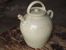 Ancienne chevrette en grès apothicaire poterie ancienne french antique potery