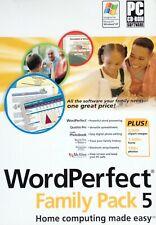 Corel WordPerfect Family Pack 5