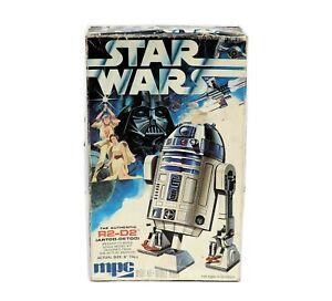 Vintage MPC 1-1912 Star Wars R2-D2 Plastic Model Kit Complete w/ Box