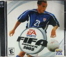 FIFA Soccer 2003 EA Sports PC CD-ROM Game 2002 2 Discs Serial Key