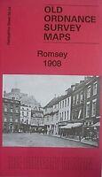 Old Ordnance Survey  Detailed Maps  Romsey Hampshire 1908  Godfrey Edition New