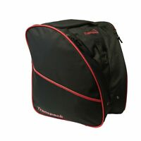 Transpack Edge Boot Bag-Black / Red