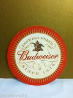 Anheuser-Busch brewery Budweiser beer coaster bar coasters brewery fresh 1876 P3