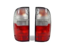 1995-2000 TOYOTA TACOMA PICKUP TRUCK 2WD & 4WD DEPO RED / CLEAR TAIL LIGHTS NEW
