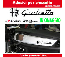 ADESIVI CRUSCOTTO GIULIETTA ALFA  ROMEO STICKERS  + OMAGGIO auto decal