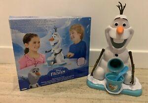 Disney Frozen Olaf Snowman Ice Shaver Snow Cone Maker - Makes slushy