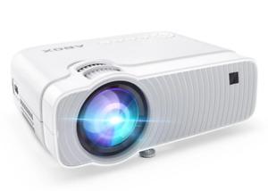 ABOX Wifi Wireless Mini LED Projektor GC357 Heimkino Beamer 1080P iOS/Android