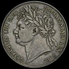 More details for 1821 george iv milled silver half crown