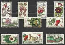 Timbres Flore Roumanie 2156/65 ** lot 9247