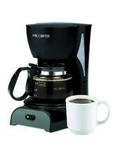4 Cup Coffee Maker Machine Brewer Pot Carafe Kitchen Countertop Simple Electric.