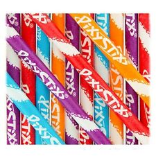 100 Willy Wonka Pixy Stix Candy Filled Fun Straws  100  Fun Straws Wedding Party