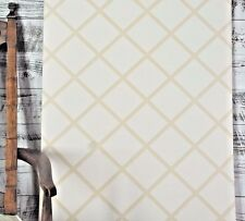Brewster Wallcoverings Kenneth James Designer Chic Tan Cream Lattice Wallpaper